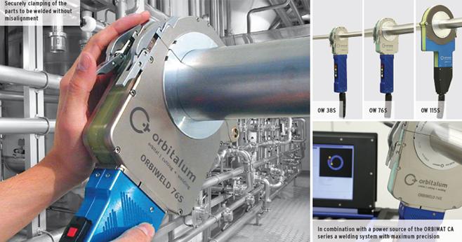 Enclosed Orbital Weld Heads Orbiweld 38s 76s 115s Suppliers Exporters India